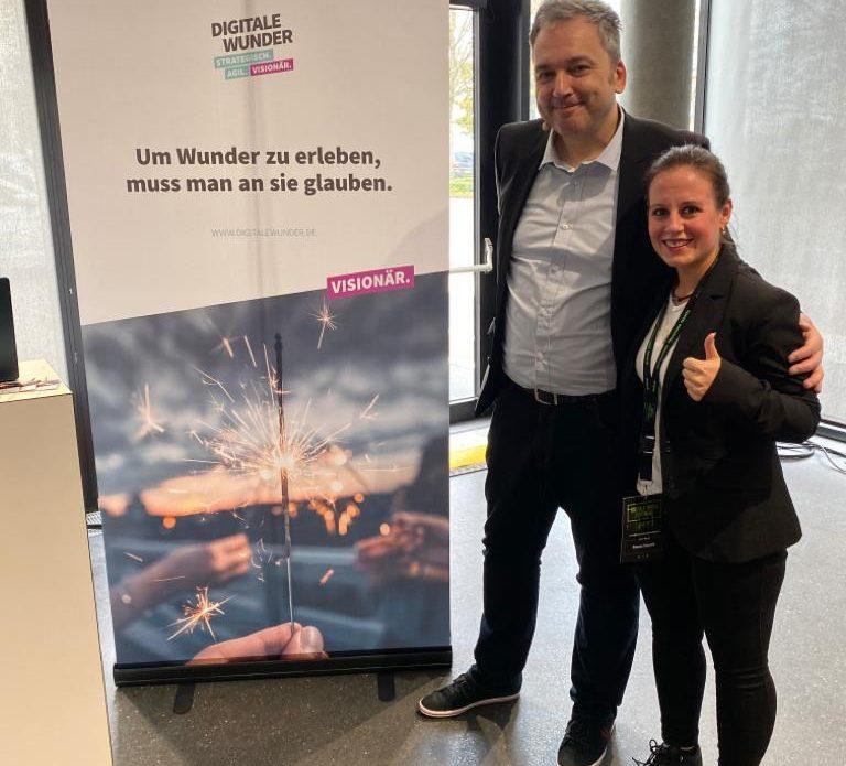 Arndt Zeigler und Romina Kolesnik von Digitale Wunder