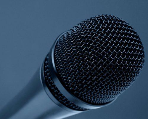 Mikrofon für den Bereich Speaking
